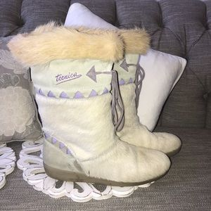 Tecnica Animal Hair Winter Boots Woman's 11